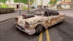 Chevrolet Impala Sport Coupe V8 RUST 1958 para GTA San Andreas