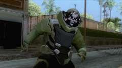 Pay day 2 - Sempai Dozer Green para GTA San Andreas