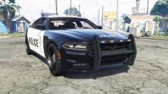 Dodge Charger RT 2015 Police v2.0 [replace] para GTA 5