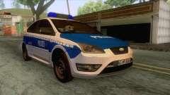 Ford Focus ST Polizei Hessen para GTA San Andreas