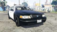Ford Crown Victoria Police v1.3 [replace] para GTA 5