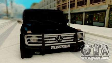 Mercedes-Benz G 55 AMG para GTA San Andreas