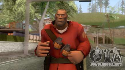 Team Fortress 2 - Soldier Skin v2 para GTA San Andreas