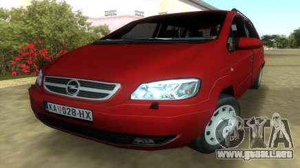 Opel Zafira 2.2DTI para GTA Vice City