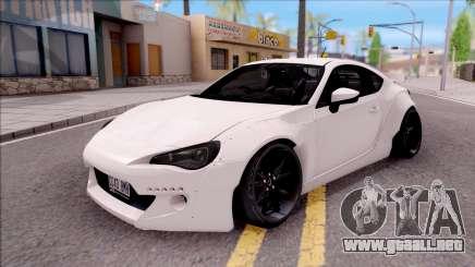 Subaru BRZ Rocket Bunny 2013 para GTA San Andreas