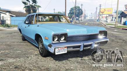 Dodge Monaco 1974 v2.0 [replace] para GTA 5
