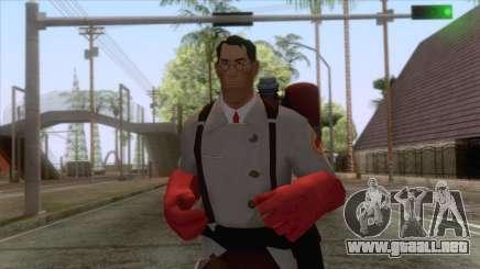 Team Fortress 2 - Medic Skin v2 para GTA San Andreas