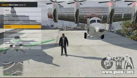 GTA 5 Enhanced Native Trainer Update 36 segunda captura de pantalla