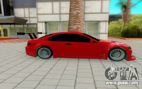 BMW M3 GTS para GTA San Andreas left
