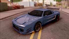 BlueRay Infernus Deoxys para GTA San Andreas
