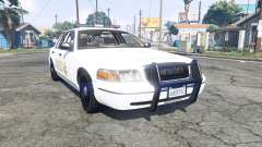 Ford Crown Victoria 1999 Sheriff v1.2 [replace] para GTA 5