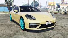 Porsche Panamera Turbo (971) 2017 [replace] para GTA 5