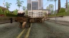 FN Minimi with ACOG Sights para GTA San Andreas