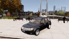 Subaru Forester 2008 Karelian Edition para GTA 4