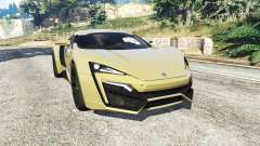 W Motors Lykan HyperSport 2014 v1.3 [add-on] para GTA 5