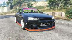 Nissan Skyline (R34) 2002 [replace] para GTA 5
