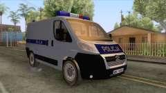 Citroen Jumper Polskiej Policji