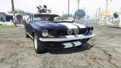 Ford Mustang GT500 1967 v1.2 [replace] para GTA 5