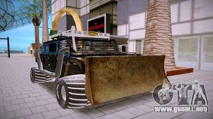 Hummer H3 negro para GTA San Andreas