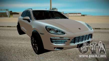Porshe Cayene para GTA San Andreas