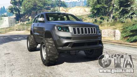 Jeep Grand Cherokee SRT8 2013 v0.5 [replace] para GTA 5