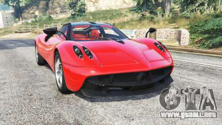 Pagani Huayra [add-on] para GTA 5