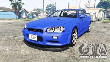 Nissan Skyline GT-R (BNR34) [add-on] para GTA 5