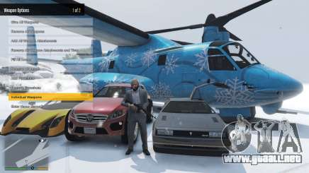 Enhanced Native Trainer Update 36 para GTA 5