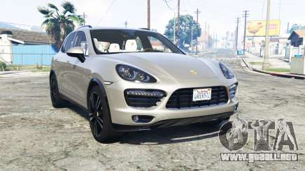 Porsche Cayenne Turbo (958) 2013 v1.1 [add-on] para GTA 5