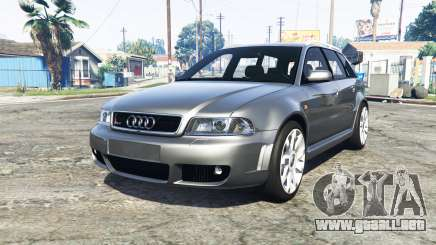 Audi RS 4 Avant (B5) 2001 v1.2 [add-on] para GTA 5