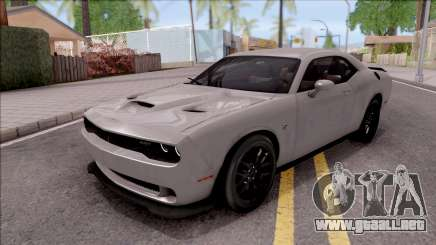 Dodge Charger SRT Hellcat para GTA San Andreas