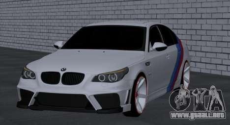 BMW M5 E60 SS (SmotraStyle) para la visión correcta GTA San Andreas