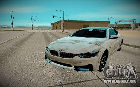 BMW M4 TR para la visión correcta GTA San Andreas