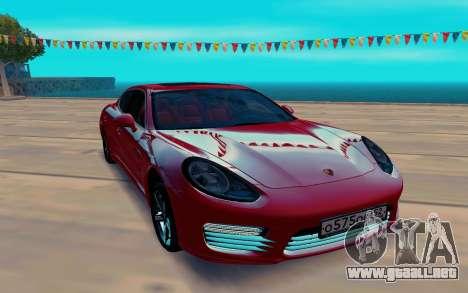 Porsche Panamera para GTA San Andreas