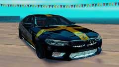BMW M5 F90 SpeedHunters para GTA San Andreas