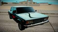 VAZ 2105 negro para GTA San Andreas