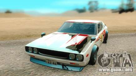 Nissan Skyline GTR para GTA San Andreas