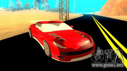 Ocelot Pariah para GTA San Andreas