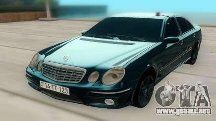 Mercedes-Benz W211 AMG 63 para GTA San Andreas