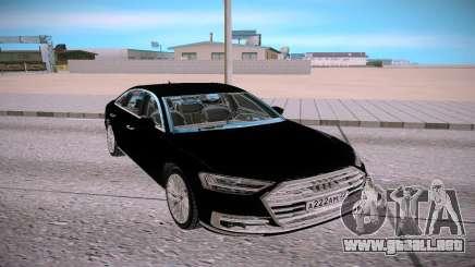 Audi A8L TFSI para GTA San Andreas