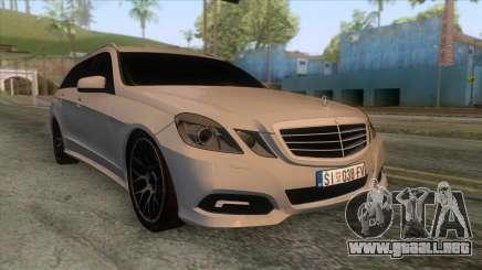 Mercedes-Benz E-Class W212 para GTA San Andreas