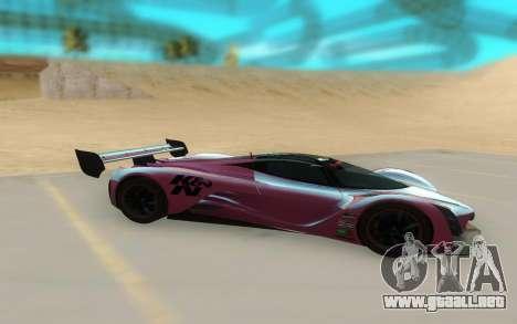 Mazda Furai Concept 08 para GTA San Andreas left