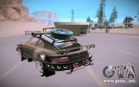 GTA V Pfister Comet Safari para GTA San Andreas vista hacia atrás