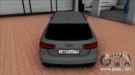 Audi RS6 Avant C7 Bulkin para GTA San Andreas