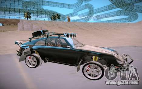GTA V Pfister Comet Safari para GTA San Andreas vista posterior izquierda