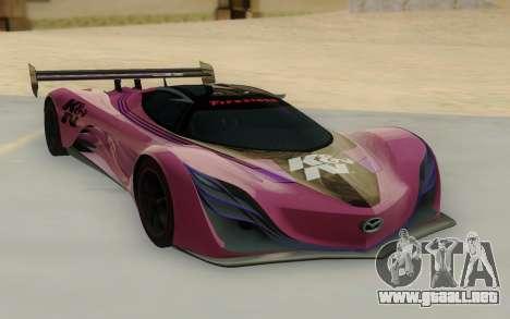 Mazda Furai Concept 08 para GTA San Andreas