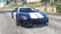 Lamborghini Aventador LP 700-4 LAPD [replace] para GTA 5
