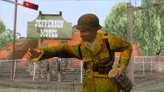World War II - Camouflage Taiwanese Soldier para GTA San Andreas