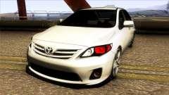 Toyota Corolla 2011 Comfort Extra para GTA San Andreas