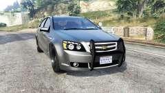 Chevrolet Caprice Unmarked Police v2.0 [replace] para GTA 5